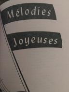 1Melodies Joyeuses Titre